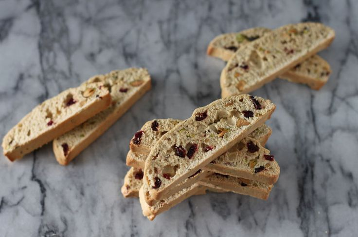 Cranberry Pistachio Biscotti - planning on substituting dried ...