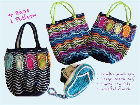 Crochet Wristlet Purse Pattern : Crocheting