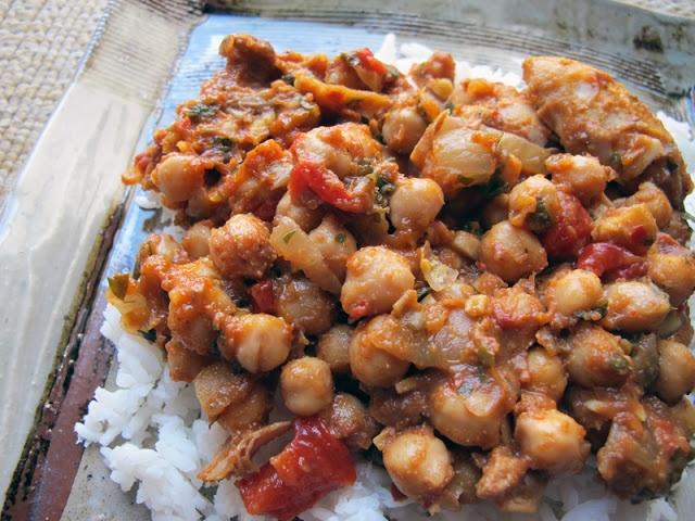 lebanese chickpea chicken stew | Soup / Stews | Pinterest