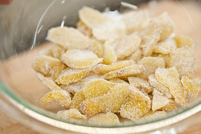 candied ginger recipe | Food | Pinterest