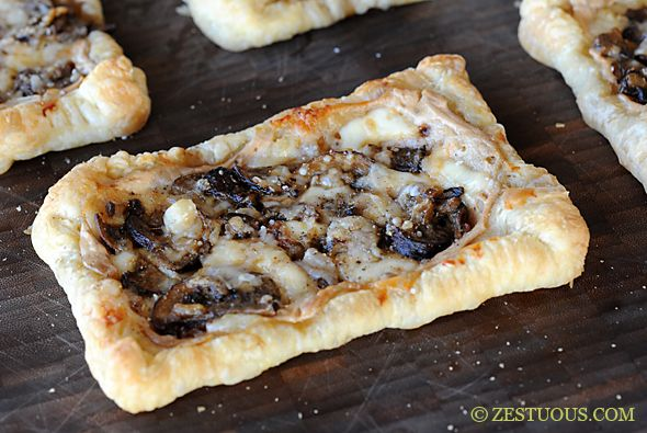 Mushroom Tart- what isn't to like about this tasty treat? I made it ...