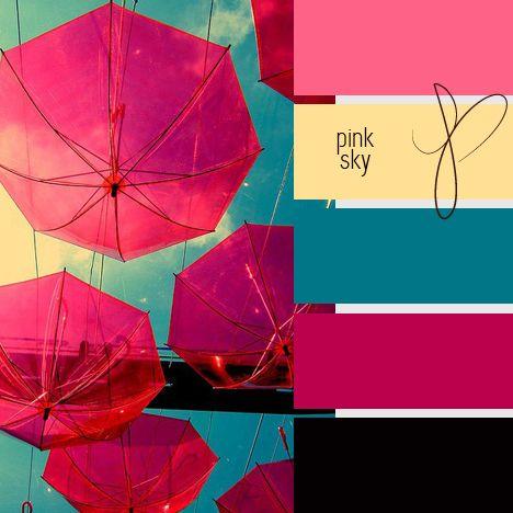 Paleta de colores combinaciones con el color rosa for Combinacion de color rosa