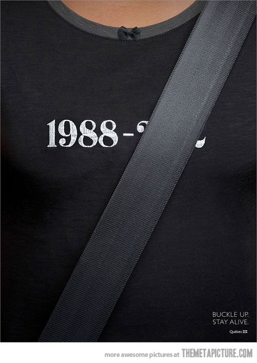 Very clever car insurance ad…