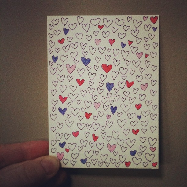 Easy Valentines card anyone can make