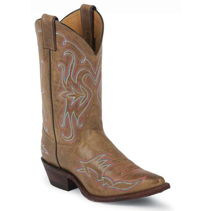Creative Justin Womens BRL120 BRL121 Bent Rail Boots