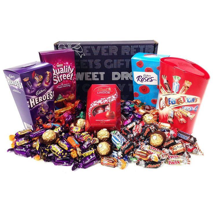 Mega Deluxe Chocolate Hamper Gift Box: Amazon.co.uk: Grocery
