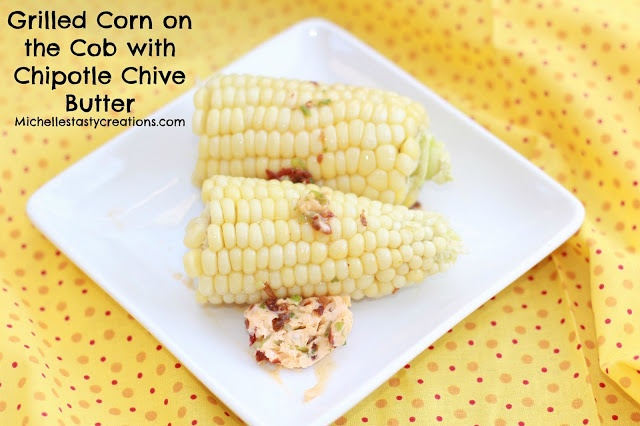 ... Creations: Grilled Corn on the Cob with Chipotle Chive Butter & SRS