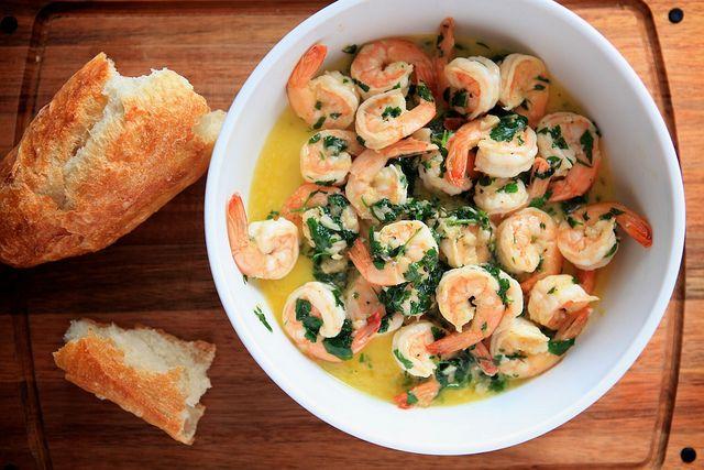 Sautéed Shrimp with Lemon, Garlic & Parsley by Nicole Franzen ...
