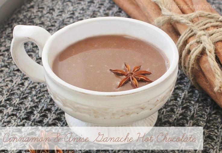 cinnamon-and-anise-ganache-hot chocolate | Chocolate City | Pinterest
