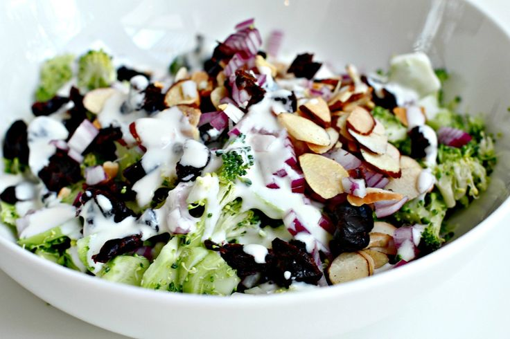 Broccoli Slaw with Buttermilk Dressing | Salads | Pinterest