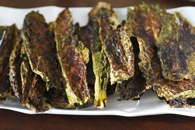 ... Halloween Barbecued 'Zombie Skin' {Kale Chips} (*Use SCD BBQ sauce
