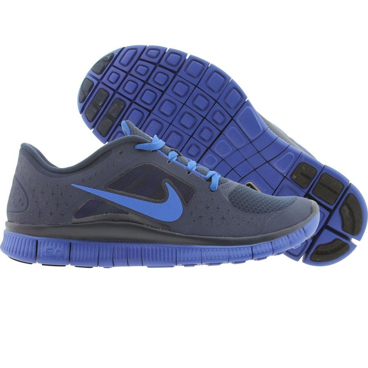 Nike Free Run +3 (light midnight / game royal) 510642-440 - $99.99