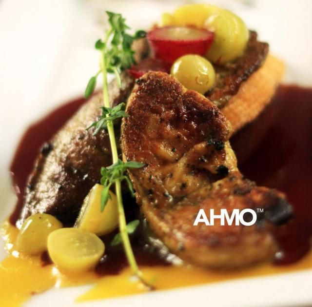 Bingazz.com | Foie Gras, goose duck liver sauteed with red wine sauce ...