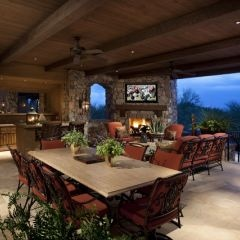 patio furniture/overall look