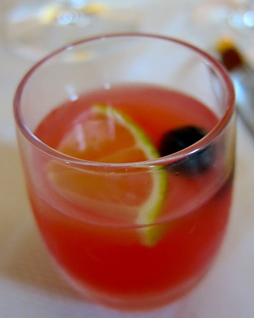 Meloncello....watermelon, limoncello, light rum aand lemon/lime soda