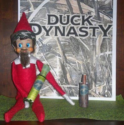 Duck Dynasty Elf On the Shelf