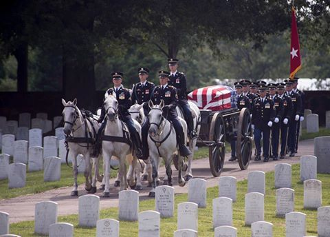 Usarmy the funeral procession of u s army maj gen harold j