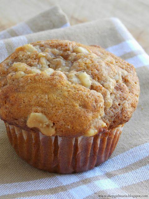 Whole Wheat Apple Muffins - Shopgirl I used 1-1/2 c. Whole wheat flour ...