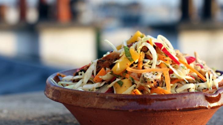 Chicken Mango Slaw | FOOD! | Pinterest