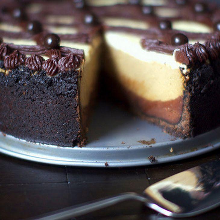 Cappuccino Fudge Cheesecake II Recipe | Food/Recipes | Pinterest