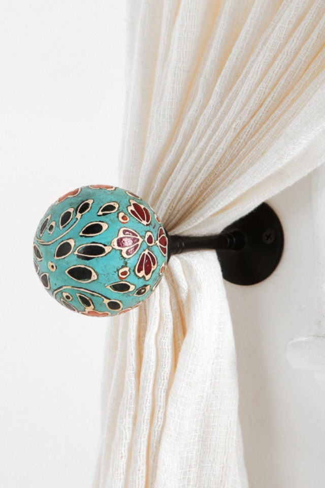 Curtain tie back | Pool | Pinterest