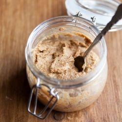 sea salt and honey almond butter