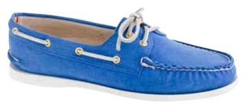 Sperry Blue Flats $43 #shoes #flats #boatshoes #sperrys #blue