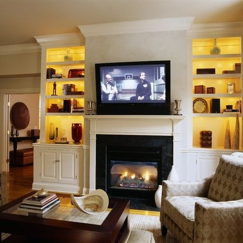 Fireplace With Built Ins Organization Home Pinterest