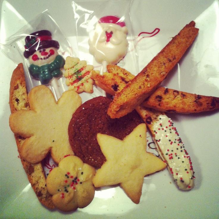 ... Biscotti. Pistachio Candied Ginger Biscotti. Pecan Bourbon Biscotti