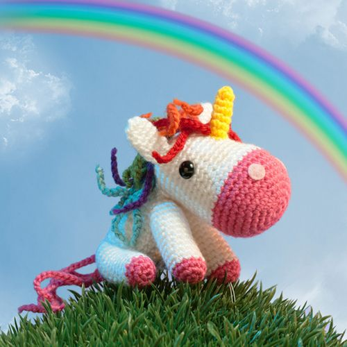 Crochet Unicorn : Amigurumi Unicorn Crochet Projects Pinterest