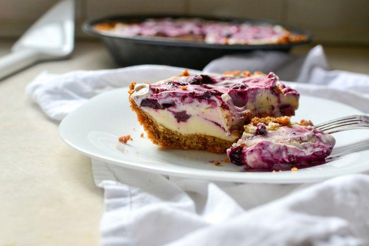 amaretti crust lemon blueberry bars with coconut crust no bake ...