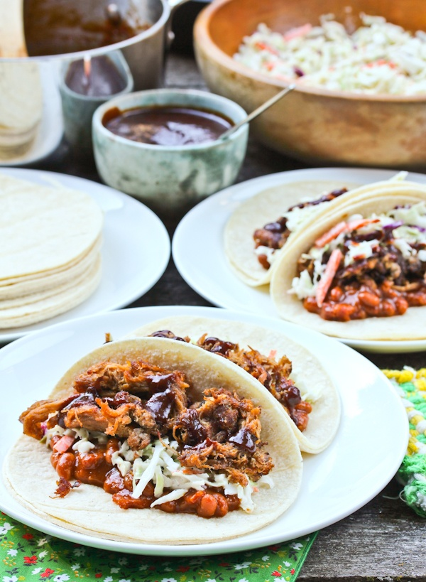 BBQ Carnitas Tacos from White Duck Taco Shop, Asheville NC @Sommer {A ...