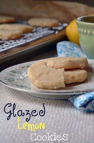 Glazed lemon cookies | If I was a kitchen girl | Pinterest