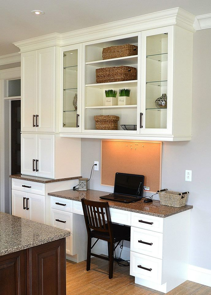 Kitchen Computer Nook For The Home Pinterest