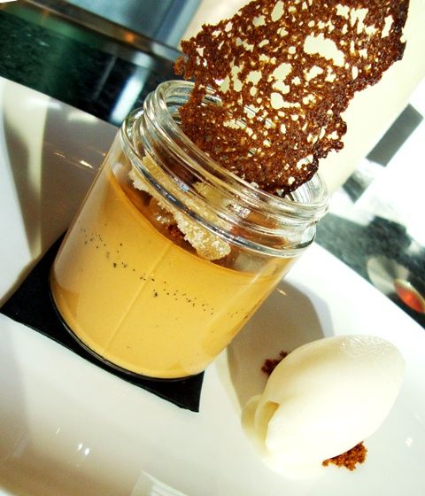 Caramel Coffee Pot de Creme | Desserts in Jars | Pinterest