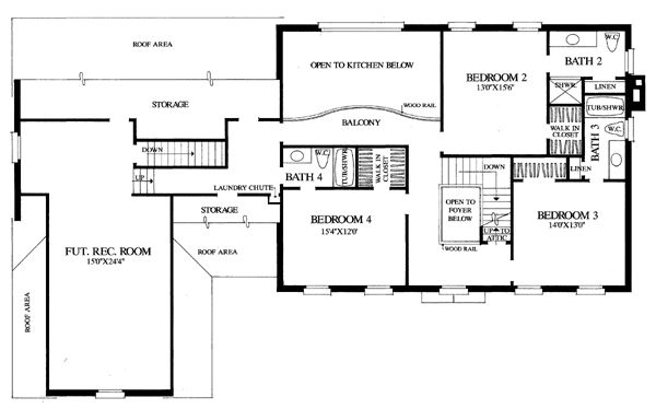 Colonial Traditional House Plan 86224
