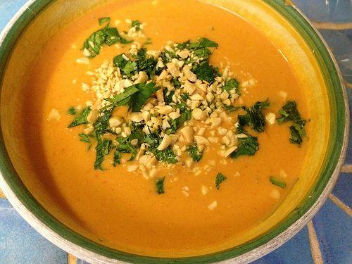 African Peanut Soup | Food- meals | Pinterest