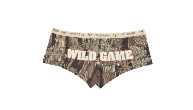Camo wild game underwear! Super cute!   Get In My Closet!   Pinterest