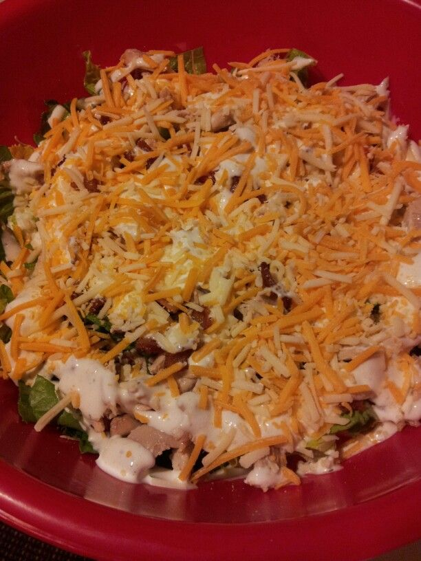 Chicken BLT Salad | Salad ides | Pinterest