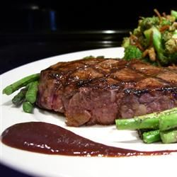 Filet Mignon with Rich Balsamic Glaze | 641.54 Where's the BEEF? | P ...