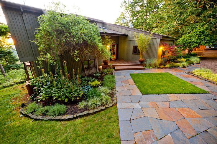 Great Backyard Patios : Great stone patio  Courtyard ideas  Pinterest