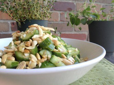 Cucumber and Peanut Salad | Stir-fries and grills and diet foodz! | P ...