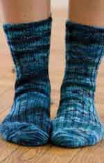 On-Your-Toes Socks by Ann Budd - one of 7 Free Sock Knitting Patterns