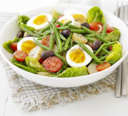 Potato-green Bean Salad With Anchovy Vinaigrette Recipe — Dishmaps