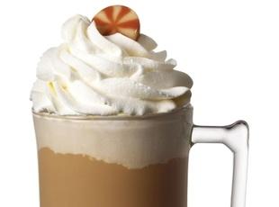 Hot Peppermint Patty Recipe | Winter beverages | Pinterest