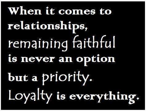 relationships faithful honest relationship