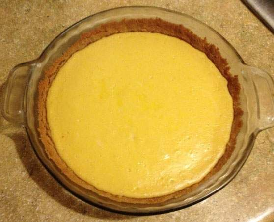 Meyer lemons shine in a classic cream pie