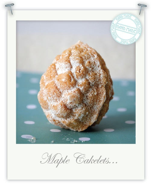 Gluten free maple cakelets | Gluten-free | Pinterest