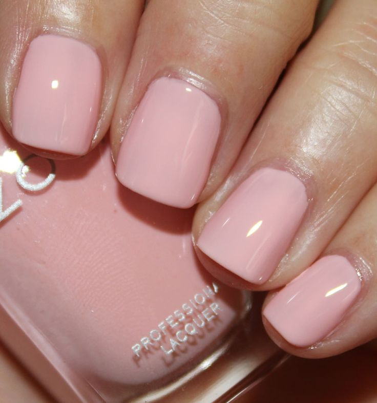 Zoya      Dot     is a pale pink cream nail polish  Spring 2014    Zoya Dot