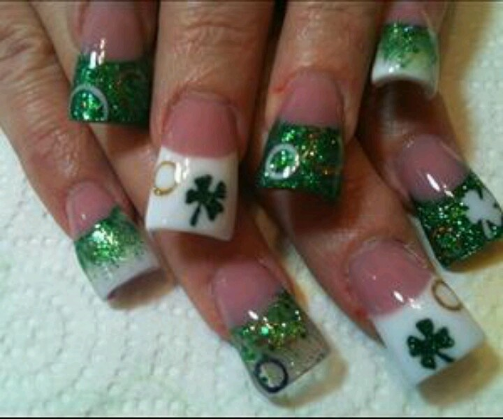21 Creative St Patrick's Day Nails